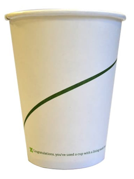 Sustain Single Walled Bio Hot Cup – Print – 16oz/500ml - 1000/case