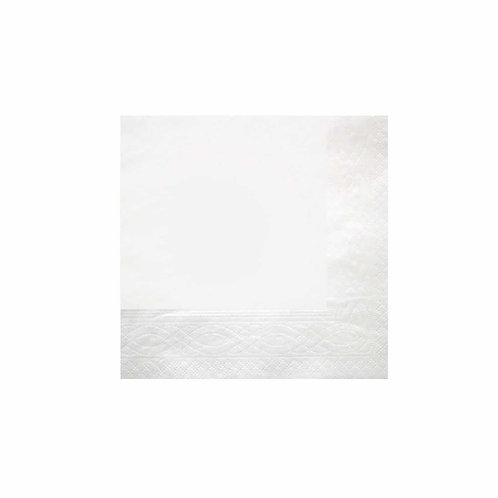 Recycled napkin 1 ply – White – 300 x 300 mm
