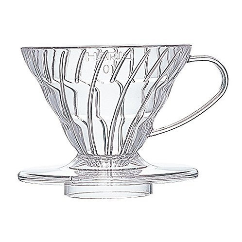 Hario V60 Plastic Coffee Dripper Clear 01