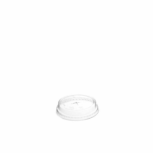 Sustain PLA Cold Cup Flat Lid – Straw cross – 96mm
