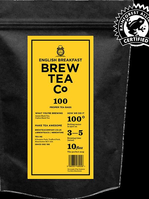 English Breakfast -100 tea bags