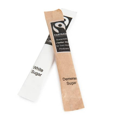 Fairtrade Brown Sugar Stick 2.5g - case of 1000