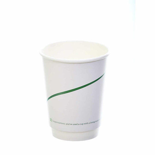 Sustain Double walled bio hot cup – Print – 8oz/240ml - 500/case