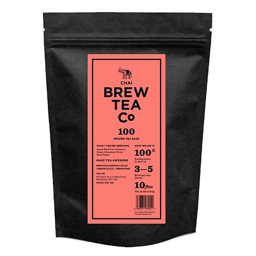 Chai - 100 tea bags