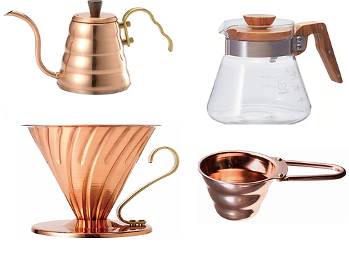 Hario V60 Copper Bundle (Save over 10%)