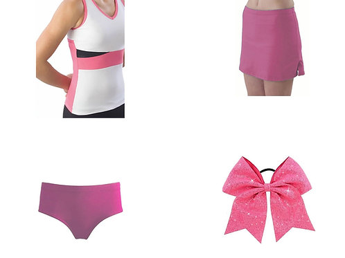 Pizzazz Color Block Bows and Basics