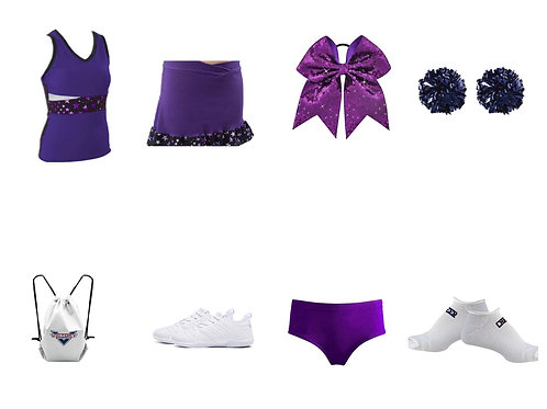 Pizzazz Super Star Bows and Toes