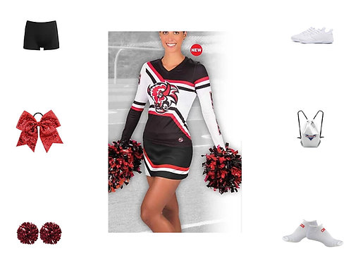 ProSphere Sublimated Cheer Bows & Toes