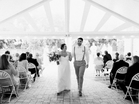 4 Reasons To Rent A Tent From High Peak Tent Rentals For Your Wedding.