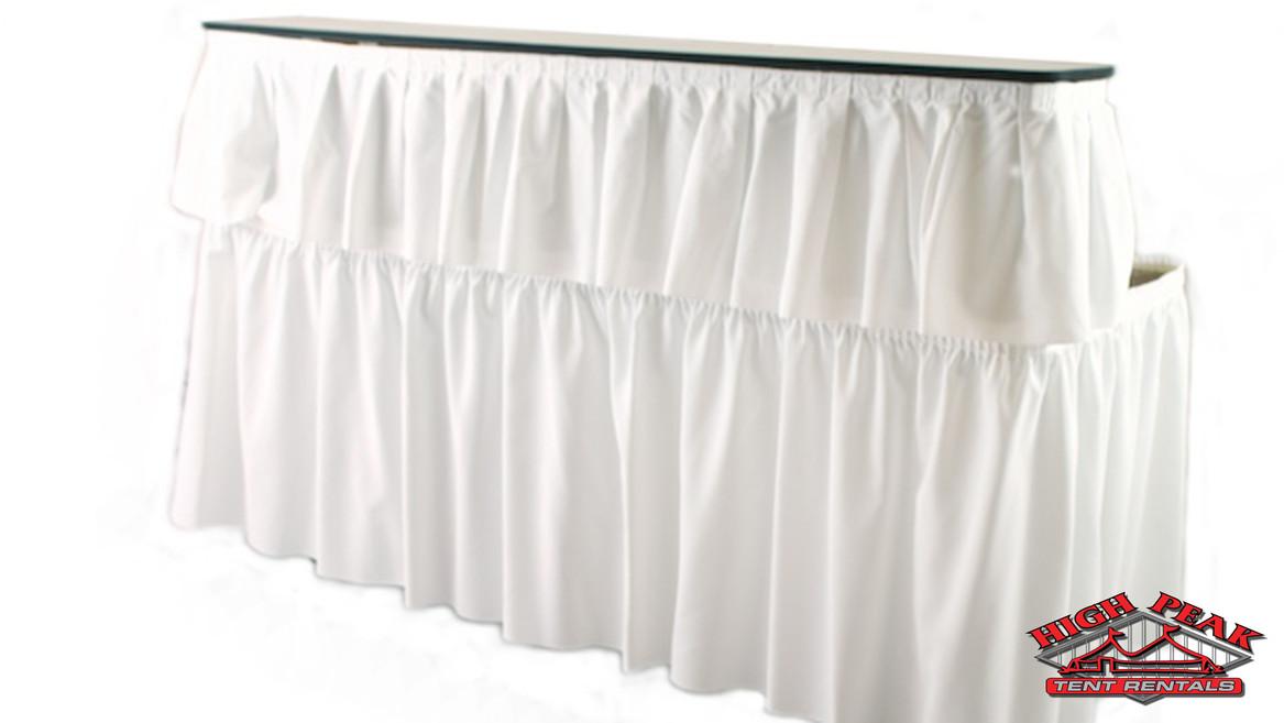 Bar With White Skirt