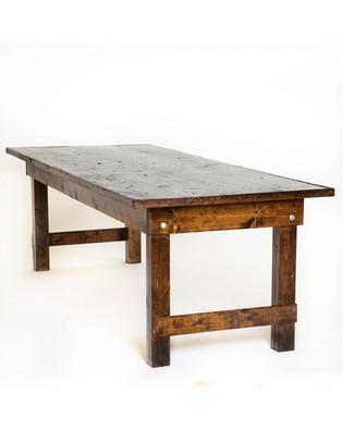 8' x 3' Farm Tables