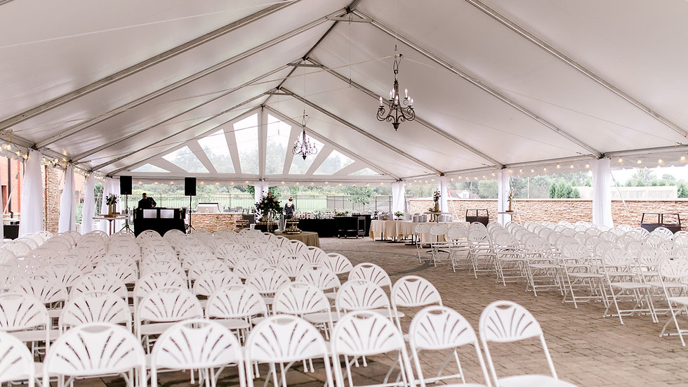 Frame Tent & Chairs