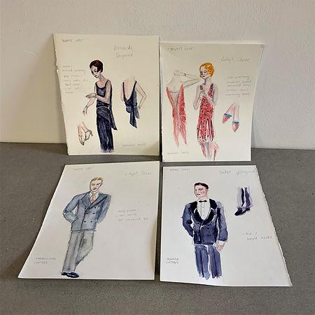 Private Lives designs by Natalie Castrog