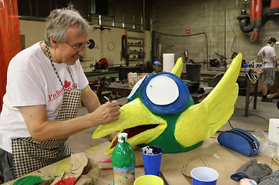 2 Jim paints bird.JPG