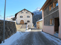 Engadinerhaus in Scuol