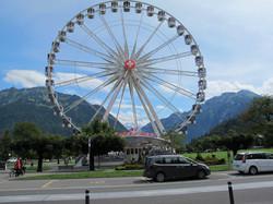 Bergwelt durchs Riesenrad