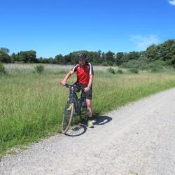 Radtour zum Bommerenweiher