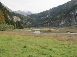 Blick zur Talstufe Griesalp