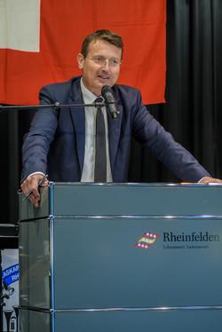 Kantonalpräsident Thomas Burgherr