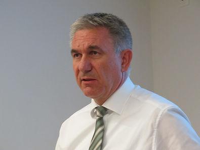 Regierungsrat Alex Hürzeler informierte über das BKS