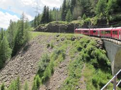 Kurz vor Alp Grüm