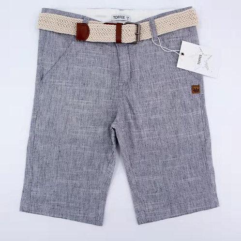 מכנס ברמודה עם חגורה