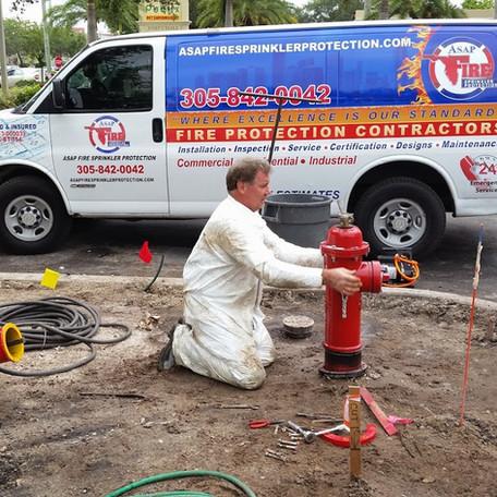 Fire Sprinkler Contractor Miami
