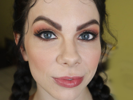 Makeup application for Sexy Photo Shoot