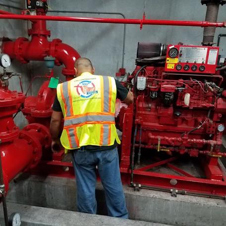 South Florida Fire System repair