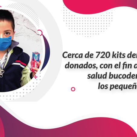 Mejora de salud bucodental a niños/niñas de Fundación Dignitas y PACO IAP.