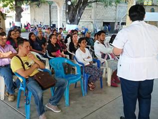 Pláticas de cultura bucal a padres y/o madres en Iguala,Guerrero. (PSBP)