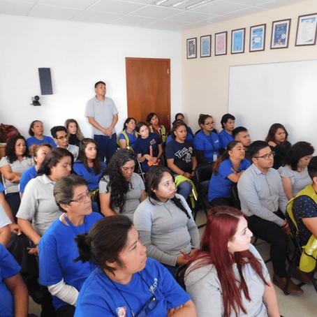 Pláticas sobre la importancia de la cultura bucal, dirigidas a personal de la empresa CELISTICS