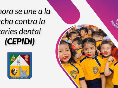 Sonora fortalece la salud bucal en infantes con el Programa de Cepillado Diario Escolar (CEPIDI).