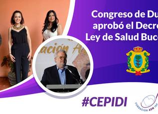 COVID 19 no frena impulso a cultura bucal en Durango (CEPIDI).