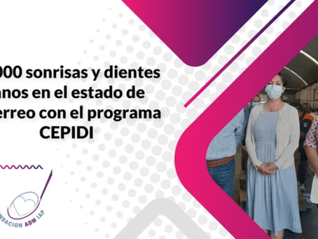 40,000 sonrisas y dientes sanos en el estado de Guerrero con el programa CEPIDI.