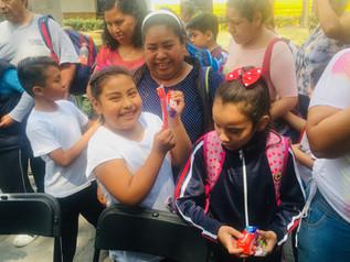 Dan inicio Jornadas de salud en materia de cultura bucal, en la delegación Iztacalco.