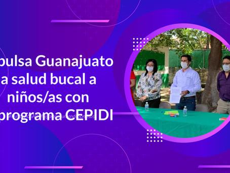 Impulsa Guanajuato la salud bucal en niños/as con el programa CEPIDI