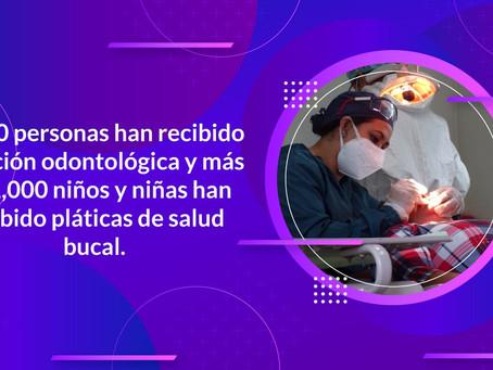 """Continua la """"Jornada de Atención a la Salud de las y los derechohabientes de la beca Leona Vicario"""""""