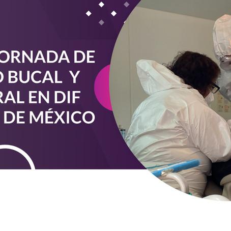 INICIA JORNADA DE SALUD BUCAL Y GENERAL EN DIF CIUDAD DE MÉXICO