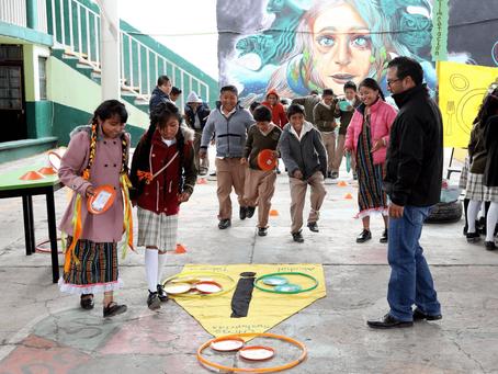 """Jornada de salud en la escuela primaria """"José Hinojosa Giles""""."""