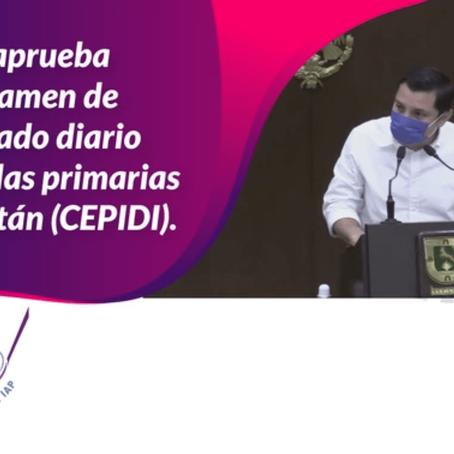 Se aprueba dictamen de cepillado diario en escuelas primarias de Yucatán (CEPIDI).