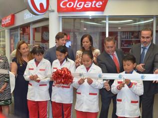 Inauguración de clínica dental Colgate en Kidzania Cuicuilco.