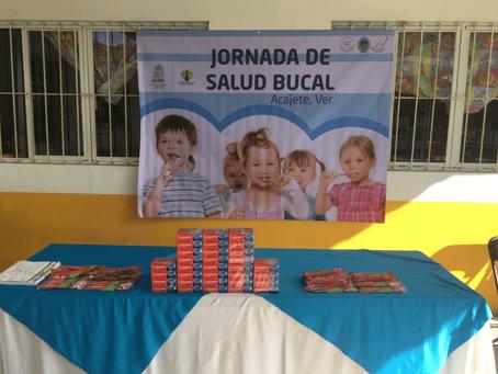 Jornada de Salud Bucal en Xaltepec, Veracruz.
