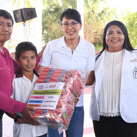 Inicia programa de Cepillado Diario Escolar en Zihuatanejo de Azueta.