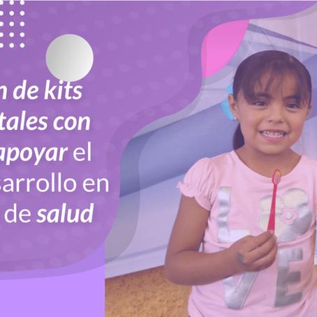 Donación de kits bucodentales a niños y niñas de instituciones de Asistencia Privada.