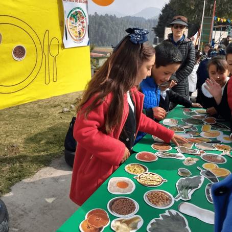 Sonrisas sanas y niños felices en la brigada de salud bucal en la comunidad La Peñuela.
