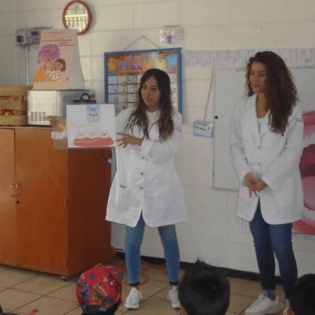 Pláticas de higiene dental en preescolares de la CDMX