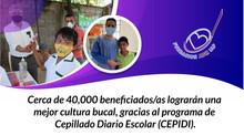 Mejora en salud bucal de niños y niñas en diferentes municipios de Guerrero. (CEPIDI)
