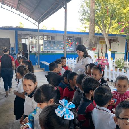Continua la lucha contra la caries en escuelas de Reynosa, Tamaulipas.