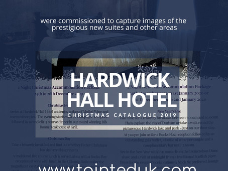 Tainted Photography adds extra sparkle to Hardwick Hall Hotel
